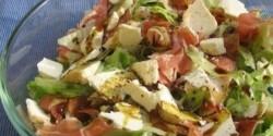 Tökmagolajos kecskesajt saláta