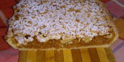 Reszelt almás süti