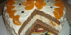 Nutellás-mandarinos torta