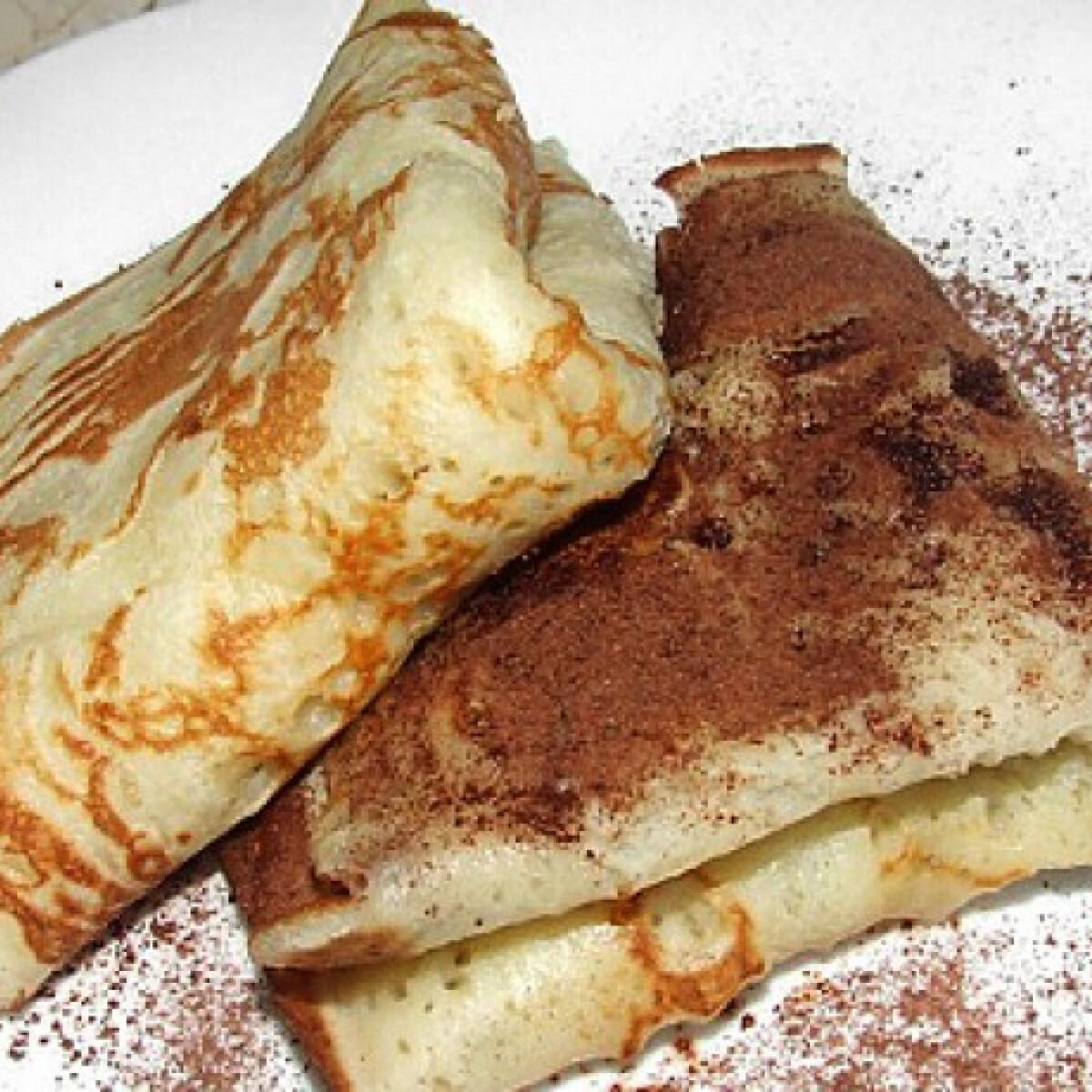 Ezen a képen: Almás palacsinta WhiteMagic konyhájából
