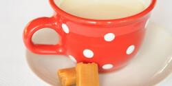 Forró karamellás tej