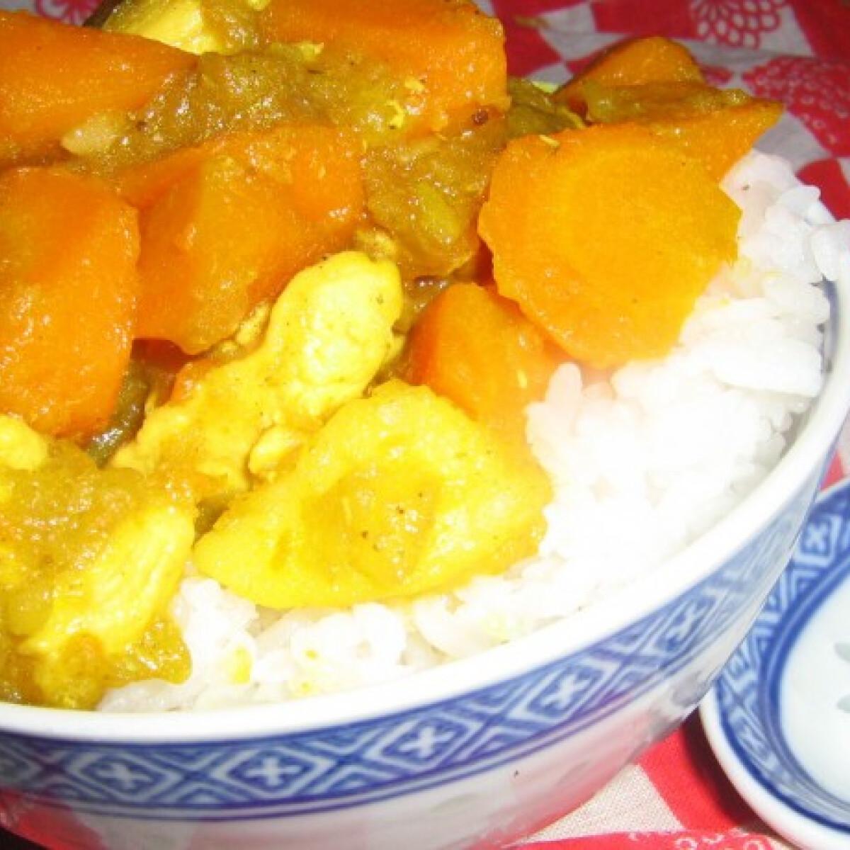 Japán stílusú curry
