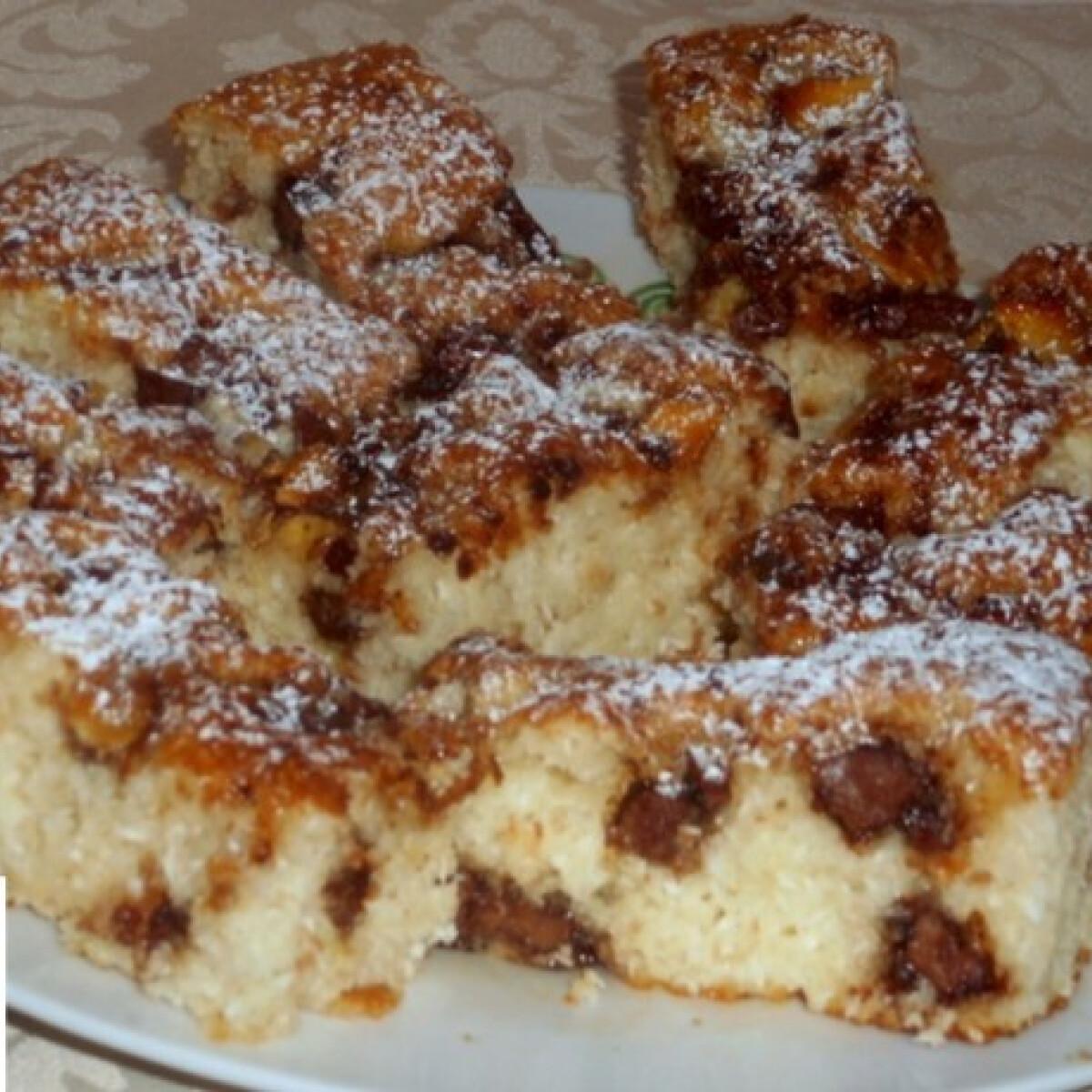 Kókuszos sütemény tojás nélkül