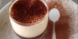 Kávézselés hamis tiramisu