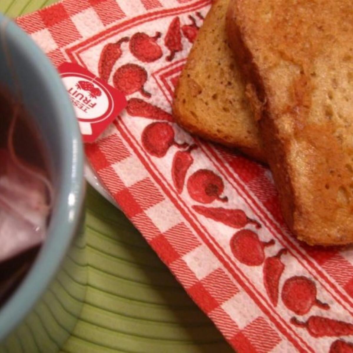 Édes fahéjas bundás kenyér