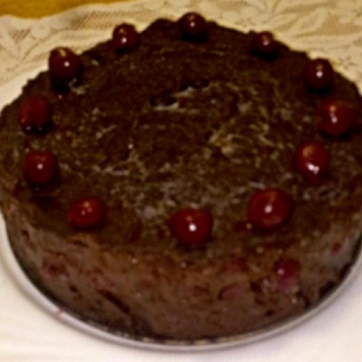 Ezen a képen: Lúdláb torta Bendika konyhájából