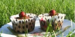 Feketeerdő muffin - Meggyes-csokis muffin 6.
