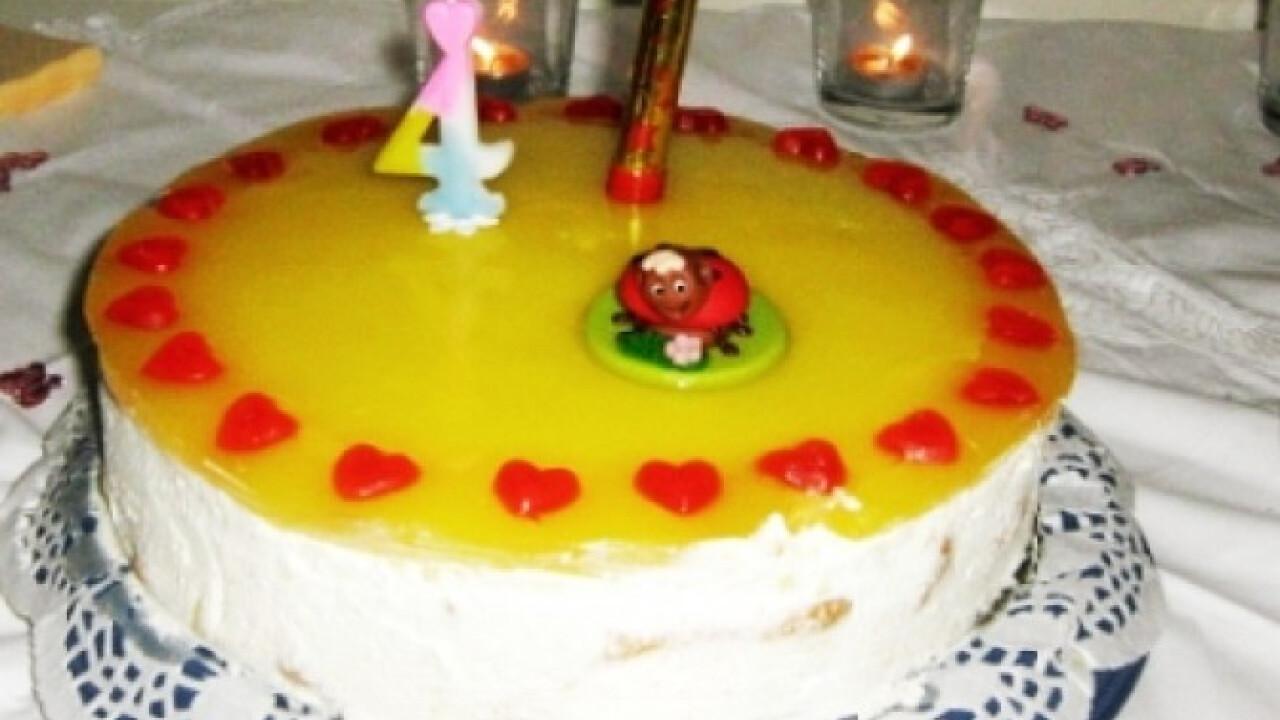 Könnyed citromtorta sütés nélkül