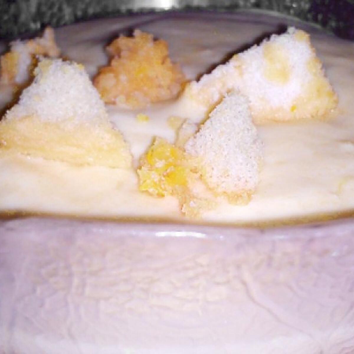 Ezen a képen: Gyümölcskrém babapiskótával
