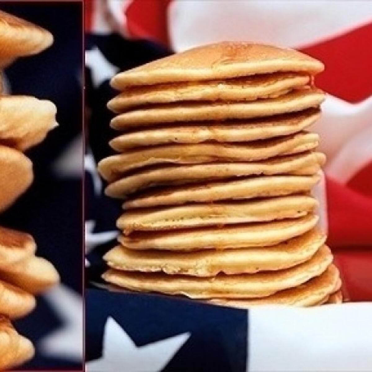 Ezen a képen: Amerikai palacsinta