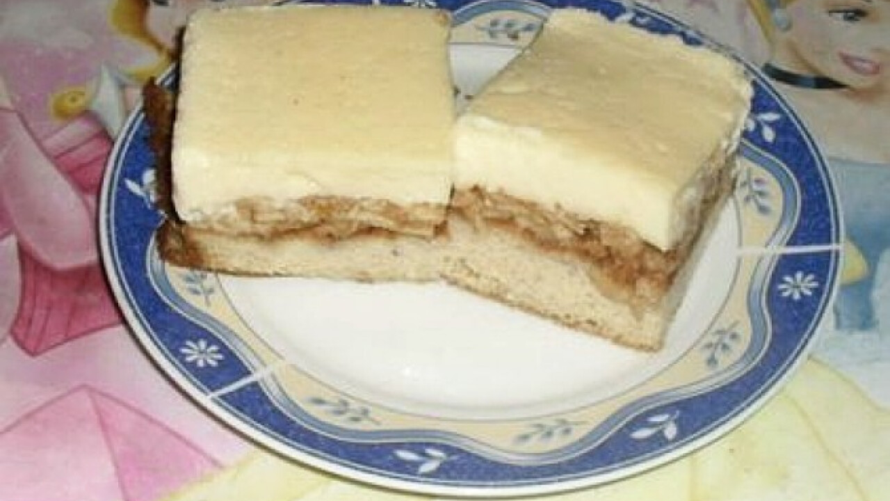 Diétás almás-pudingos süti