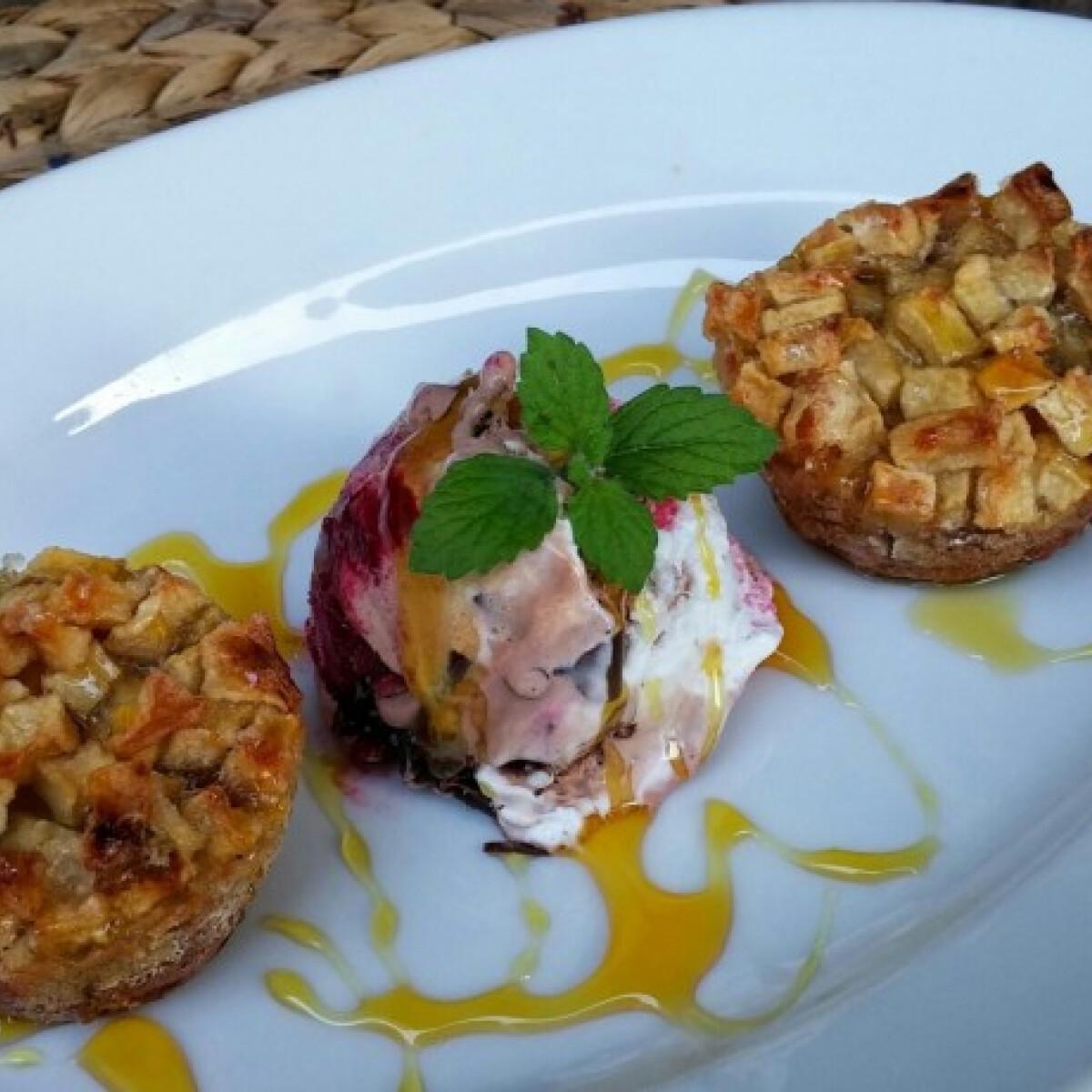 Almás guba-muffin