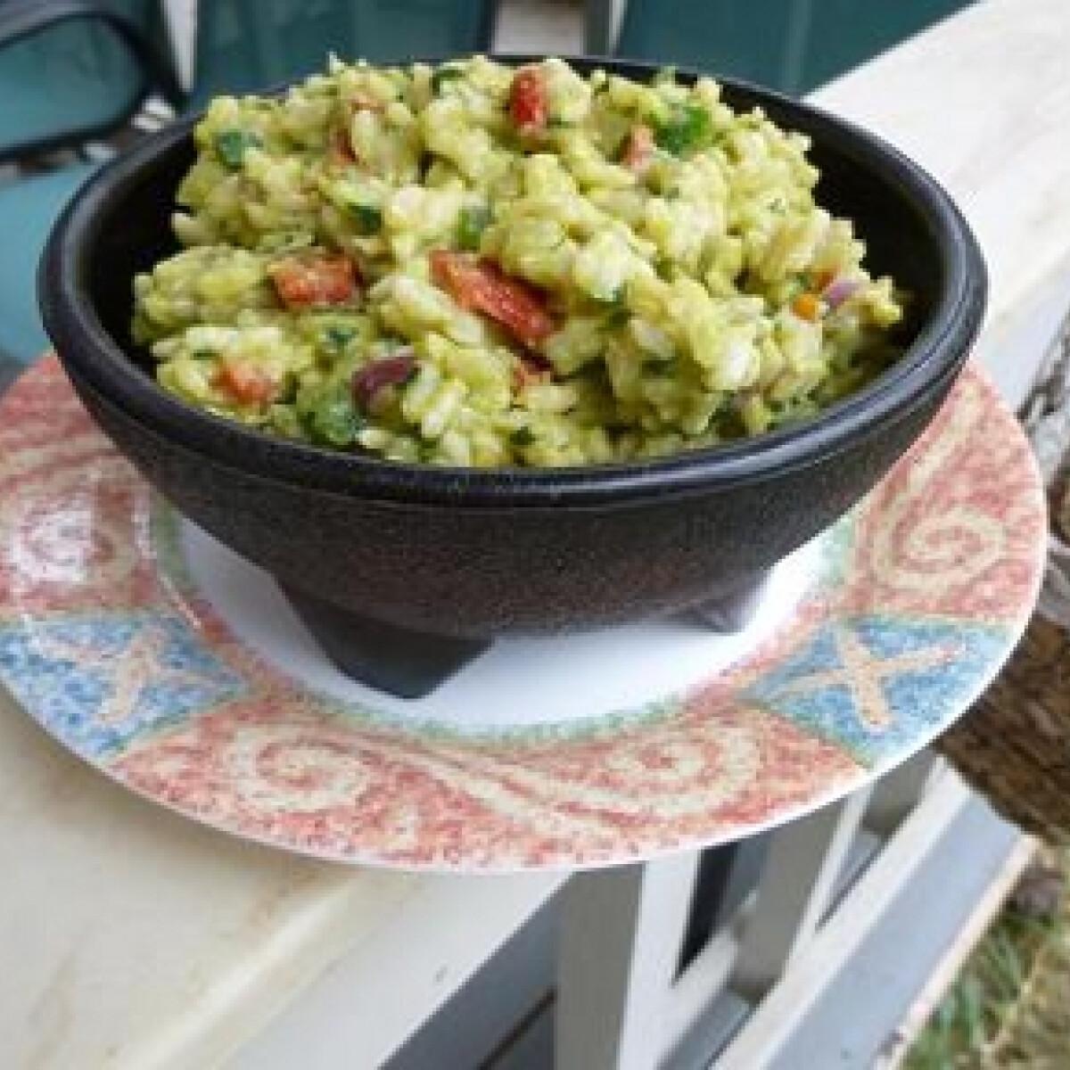 Guacamole rizs