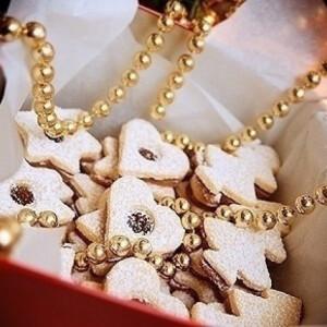 Karácsonyi fügés linzer