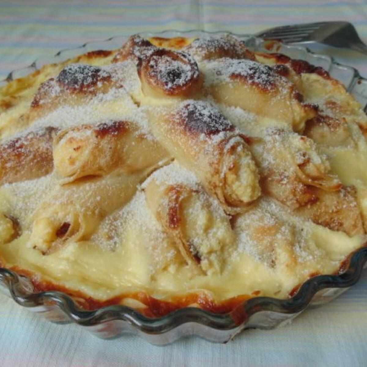 Ezen a képen: Palacsintarózsa-torta