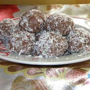 Gluténmentes kókuszgolyó
