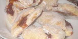 Lekváros táska krumplis tésztából