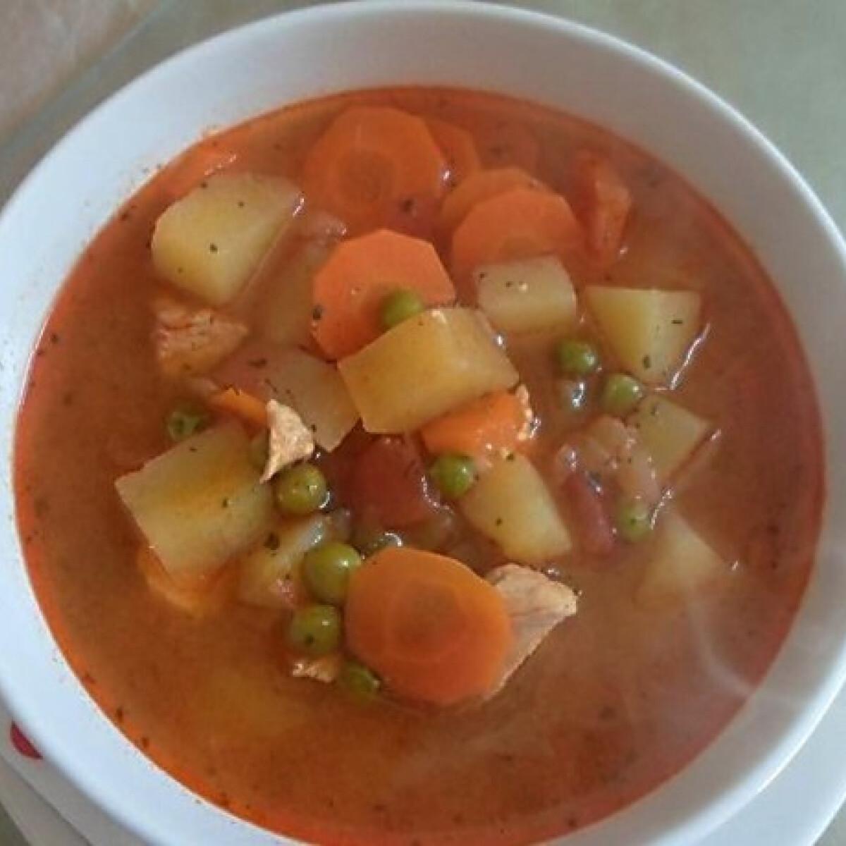 Ezen a képen: Gezemice leves