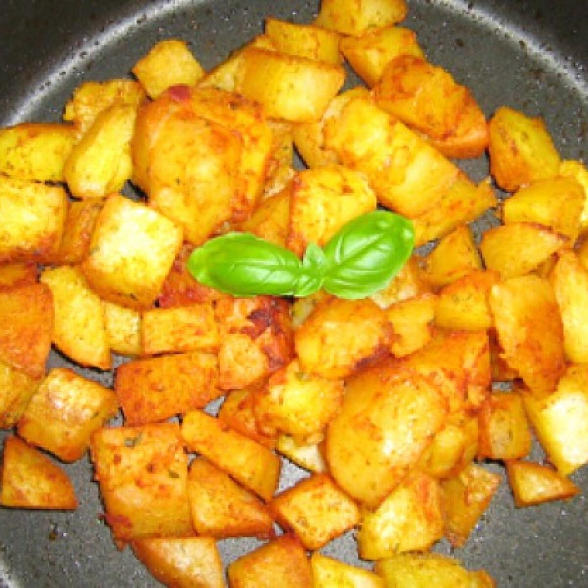 Ezen a képen: Négyfűszeres sültkrumpli