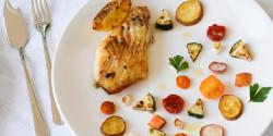 Baccalà – Fehér tőkelhalfilé sült zöldségekkel