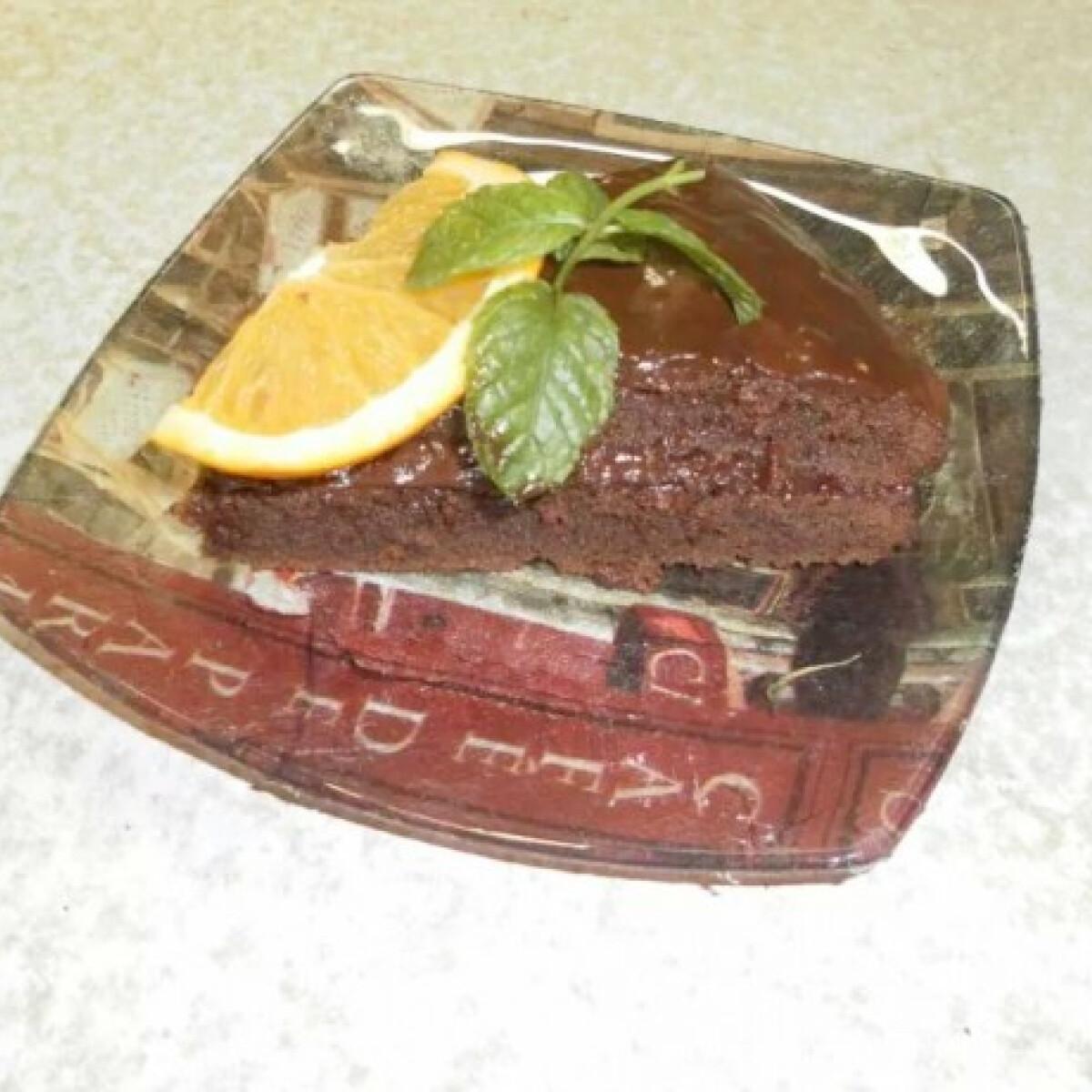 Ezen a képen: Narancsos csokoládétorta Rekalein konyhájából