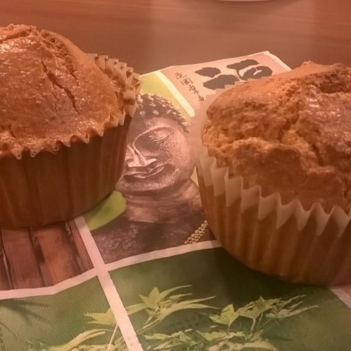 Tej- és cukormentes zabpelyhes muffin