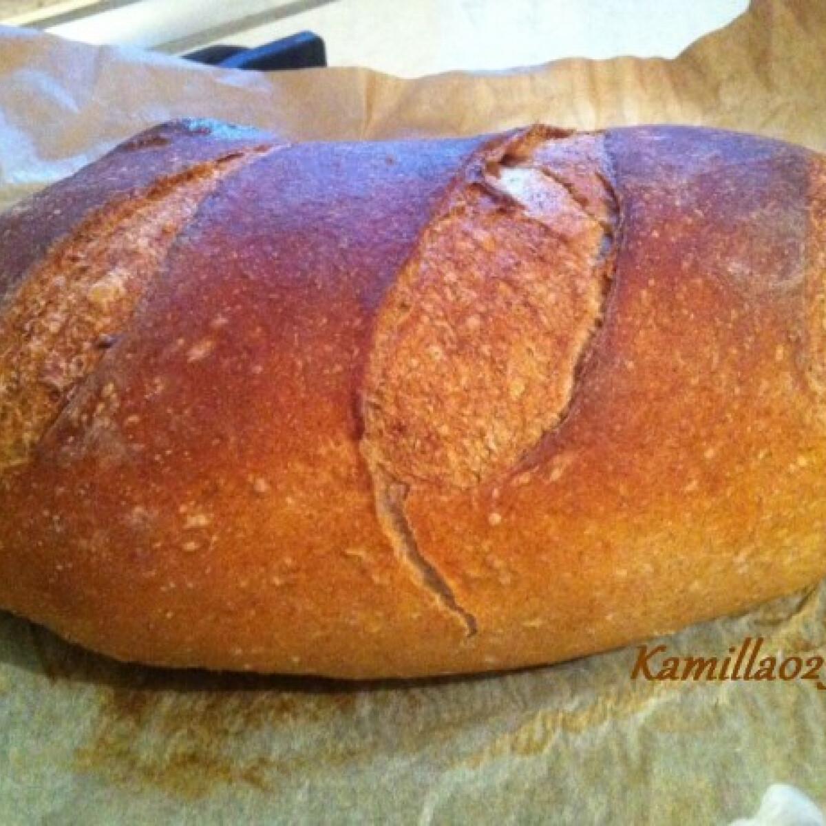 Ezen a képen: Barna kenyér Kamilla023 konyhájából