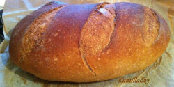Barna kenyér Kamilla023 konyhájából