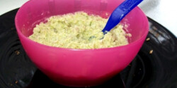 Brokkolis csirkemell babáknak