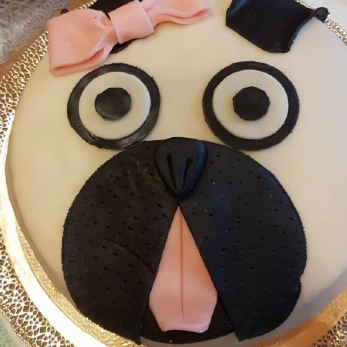 Ezen a képen: Fehércsokis-málnás torta