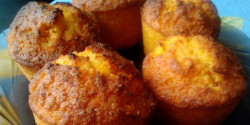 Répás-gyömbéres muffin