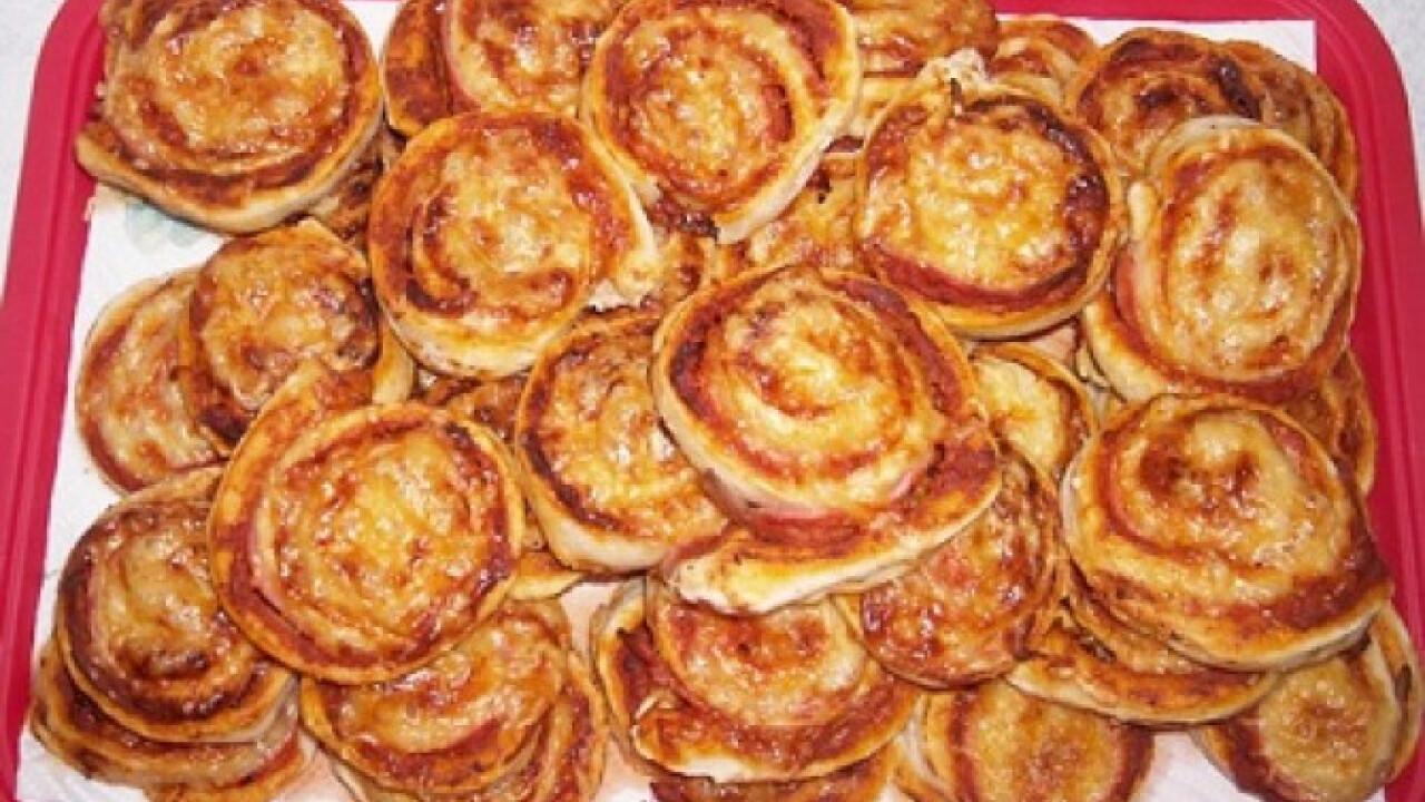 Pizzás csiga Moncsika konyhájából