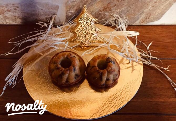 Ezen a képen: Karácsonyi minikuglóf vagy -muffin
