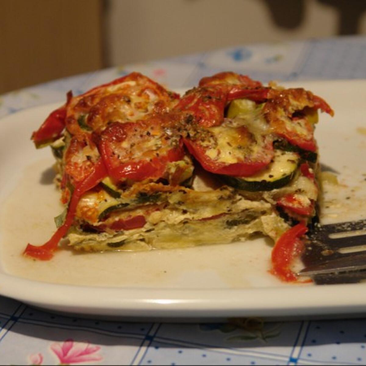 Ezen a képen: Mediterrán rakott zöldség