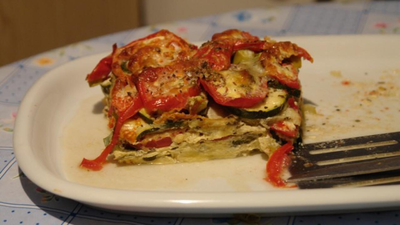 Mediterrán rakott zöldség