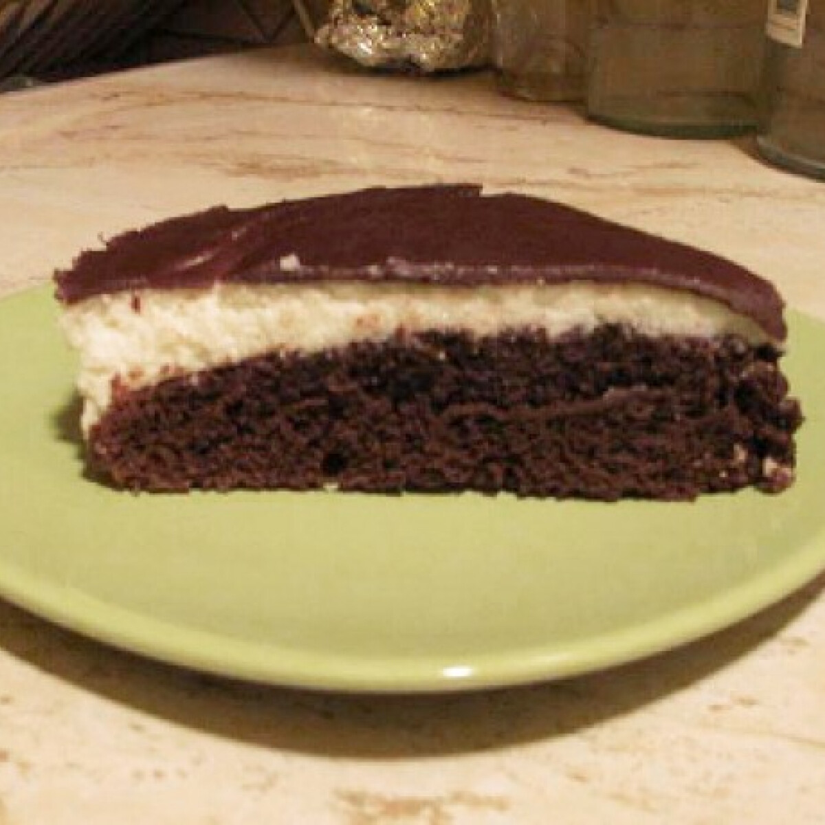 Ezen a képen: Túrórudi torta ahogy aantee készíti