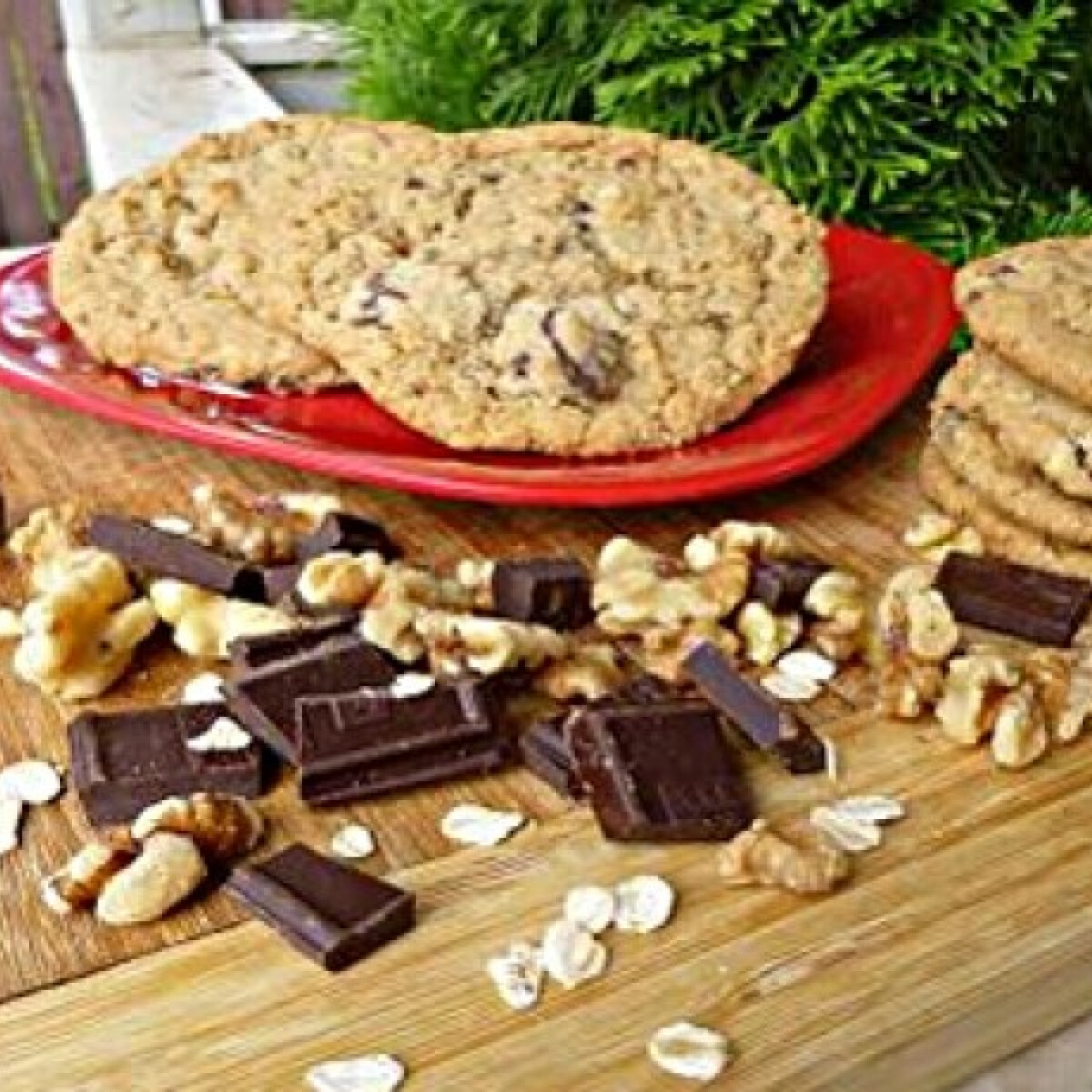 Csokis zabkeksz witch konyhájából