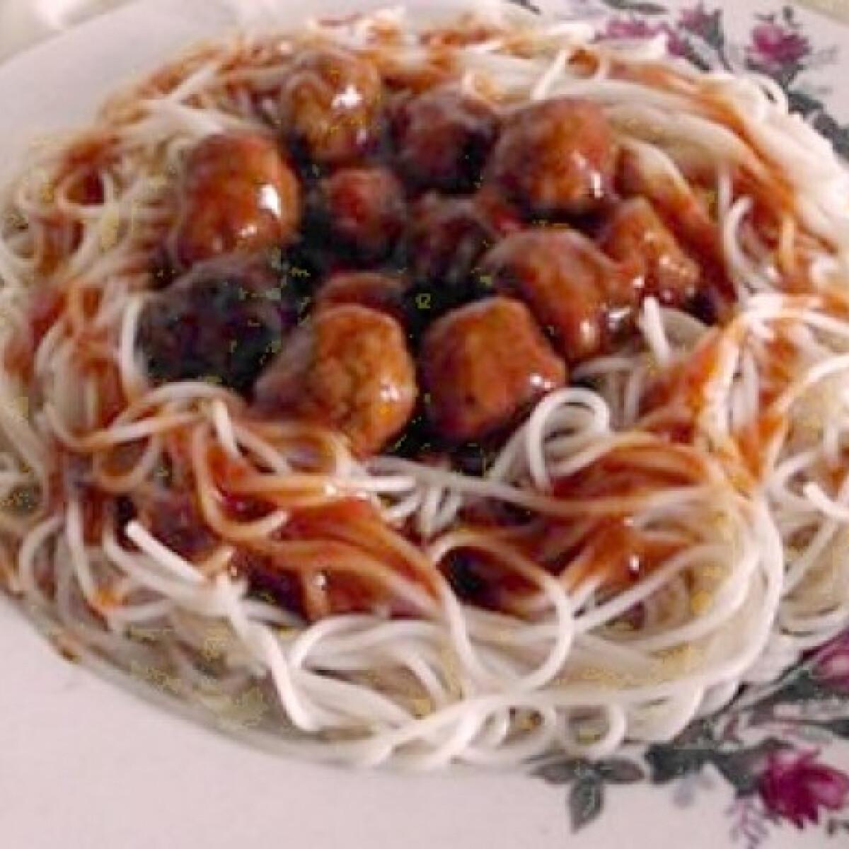 Olasz húsgombóc ahogy Tündi készíti
