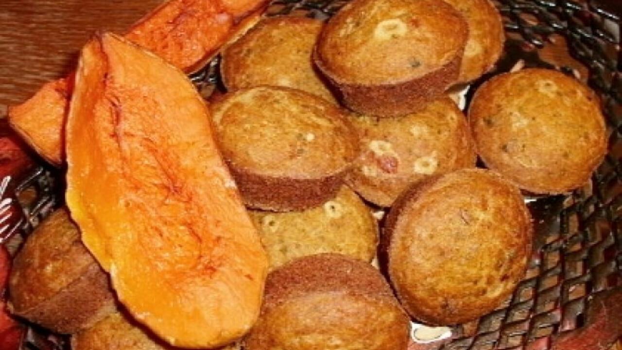 Pikáns sütőtökös puffancs