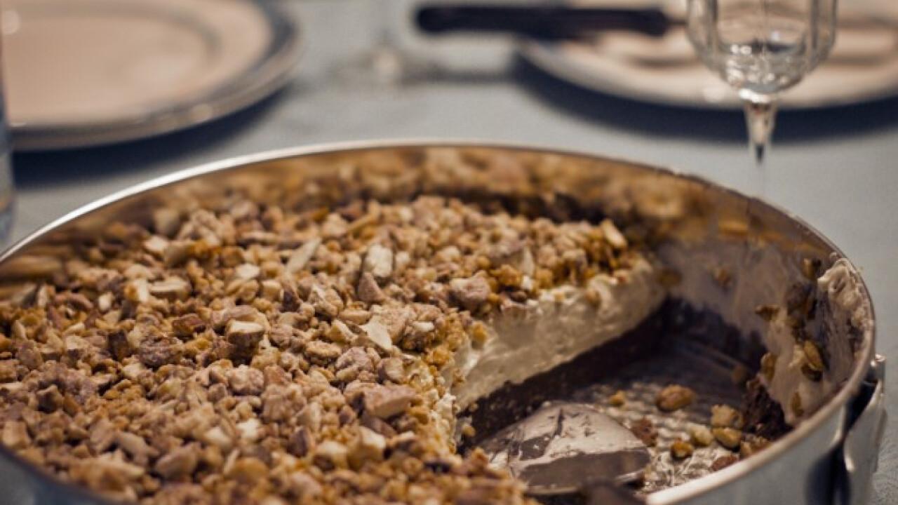 Baileys-es torta égetett mandulával