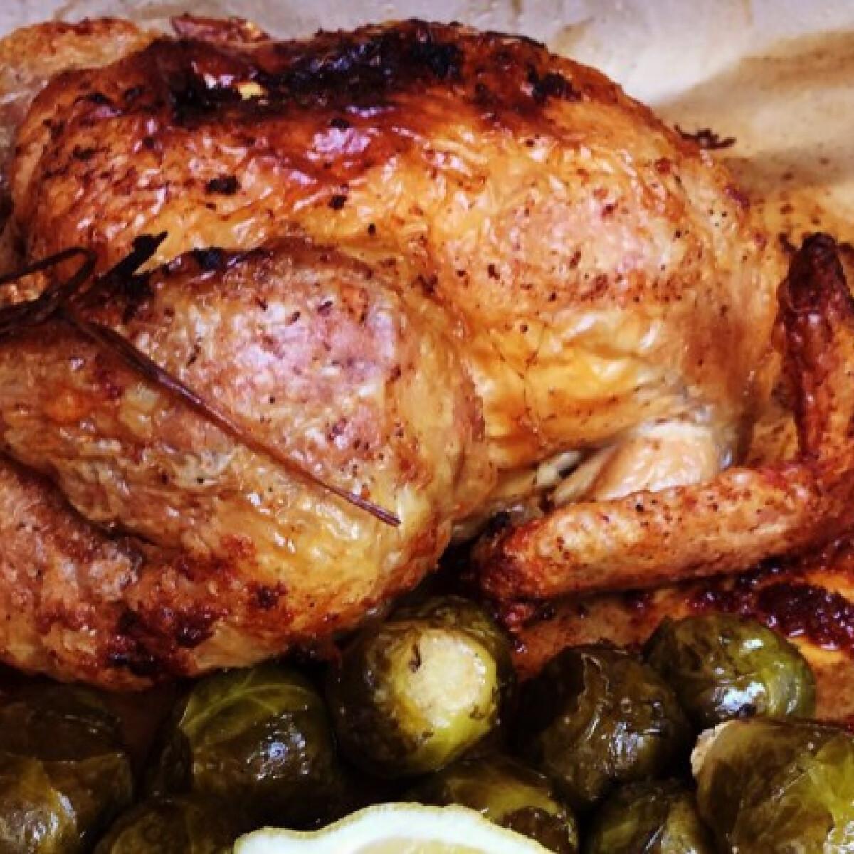 Ropogós sült csirke GastroHobbi konyhájából