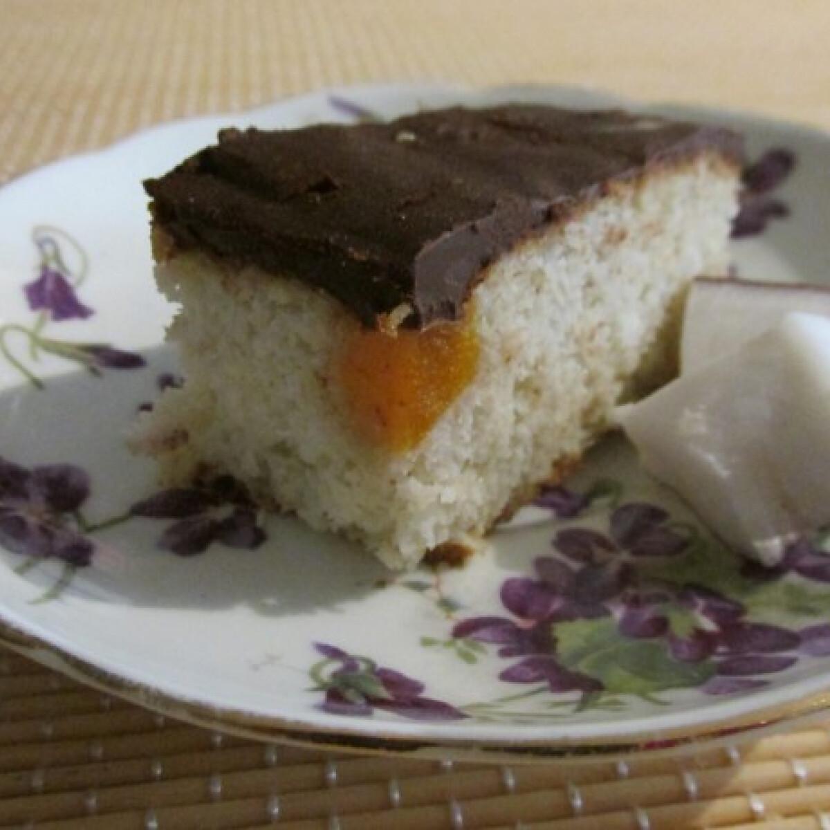Ezen a képen: Kókuszos-sárgabarackos szelet diétásan