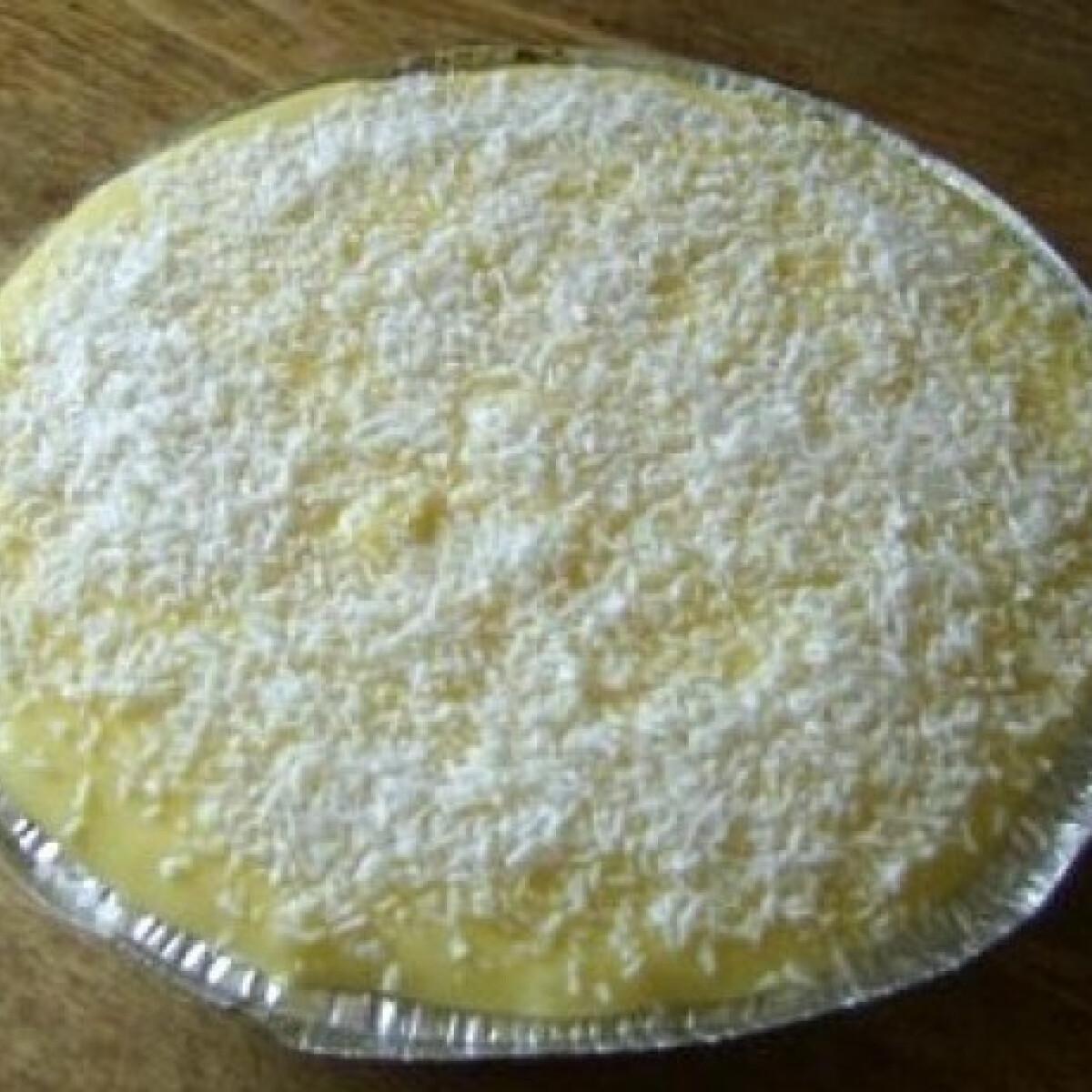 Kókuszos-citromkrémes szelet
