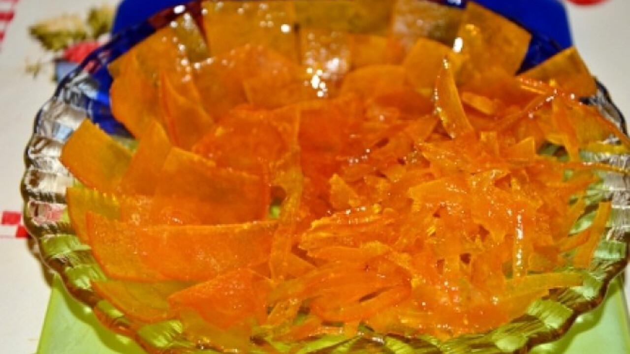 Kandírozott narancshéj Bjkatától