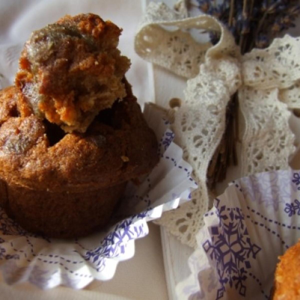 Ezen a képen: Levendulás muffin