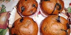 Szőlős muffin kissé diétásan Margótól