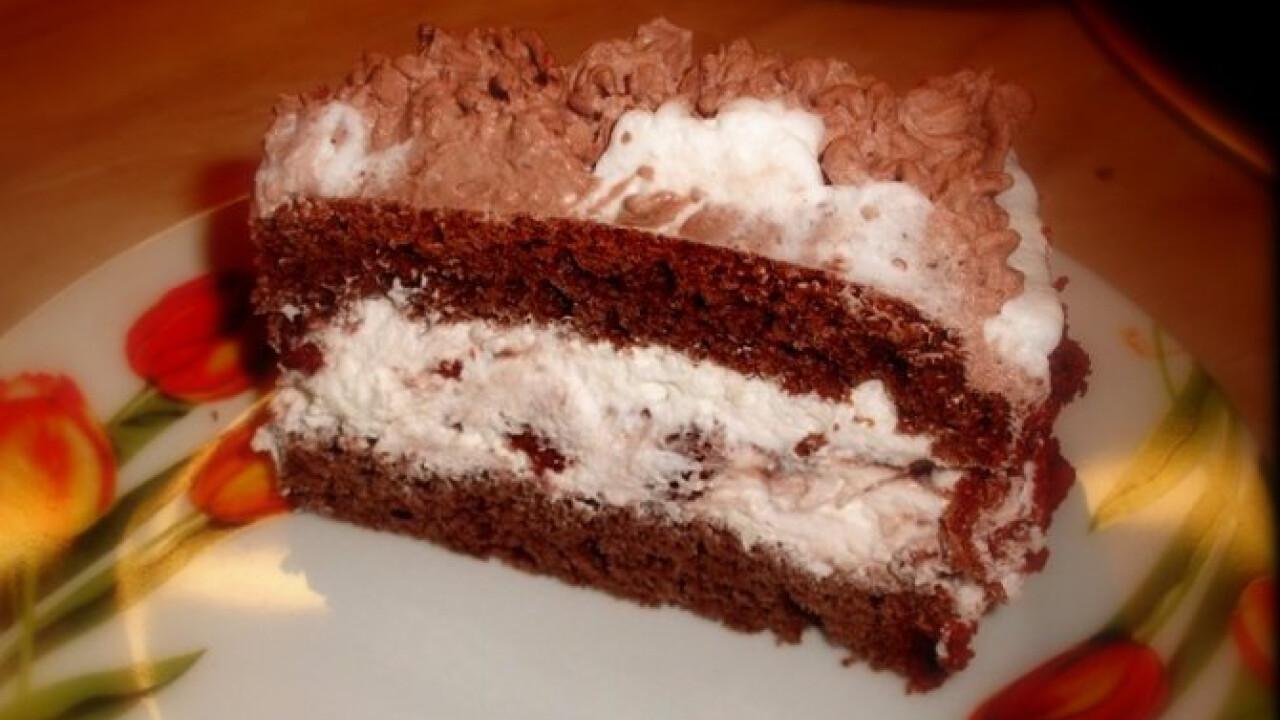 Csokis keksztorta Kingustól