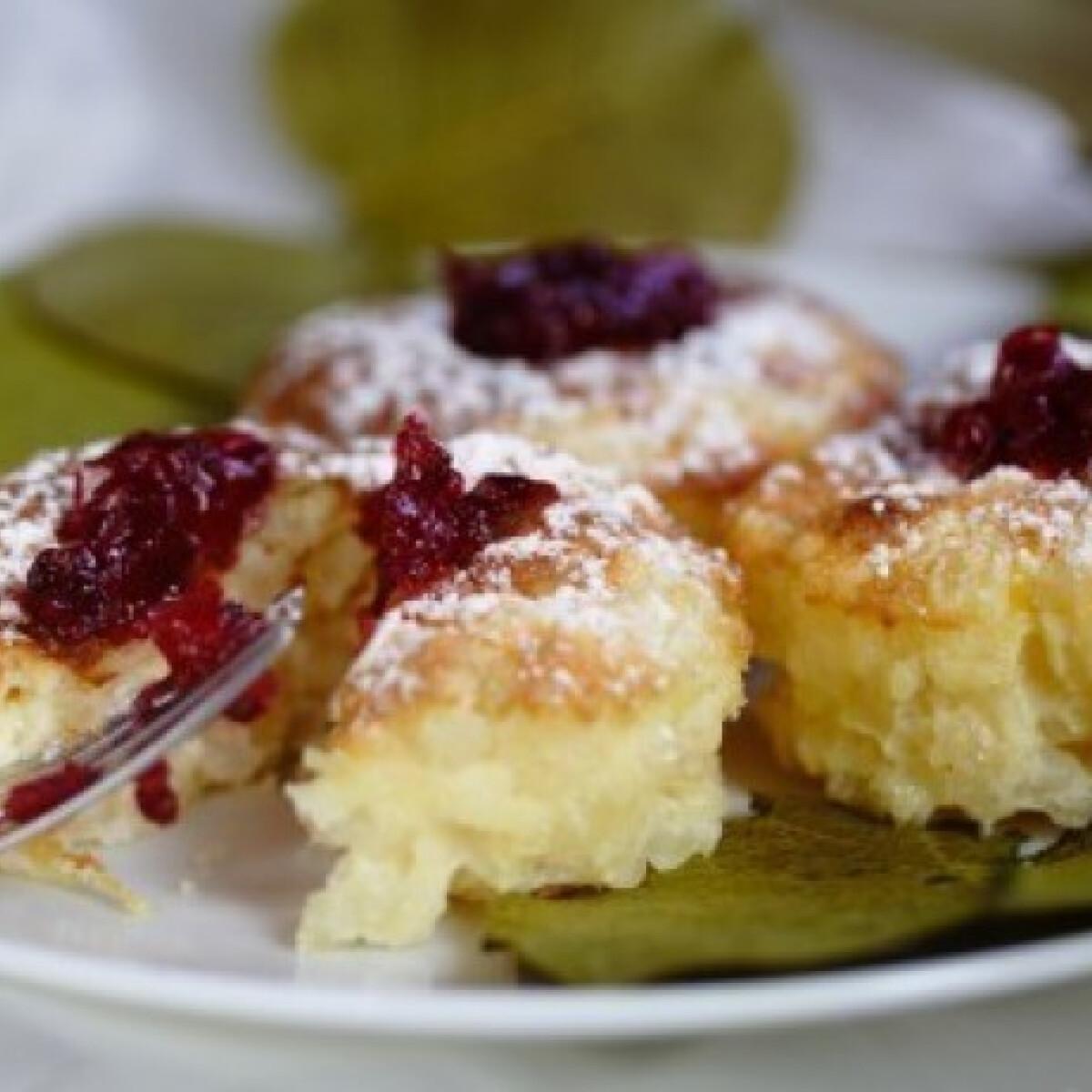 Ezen a képen: Citromos risotto muffin