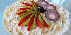 Majonézes burgonyasaláta Helga konyhájából