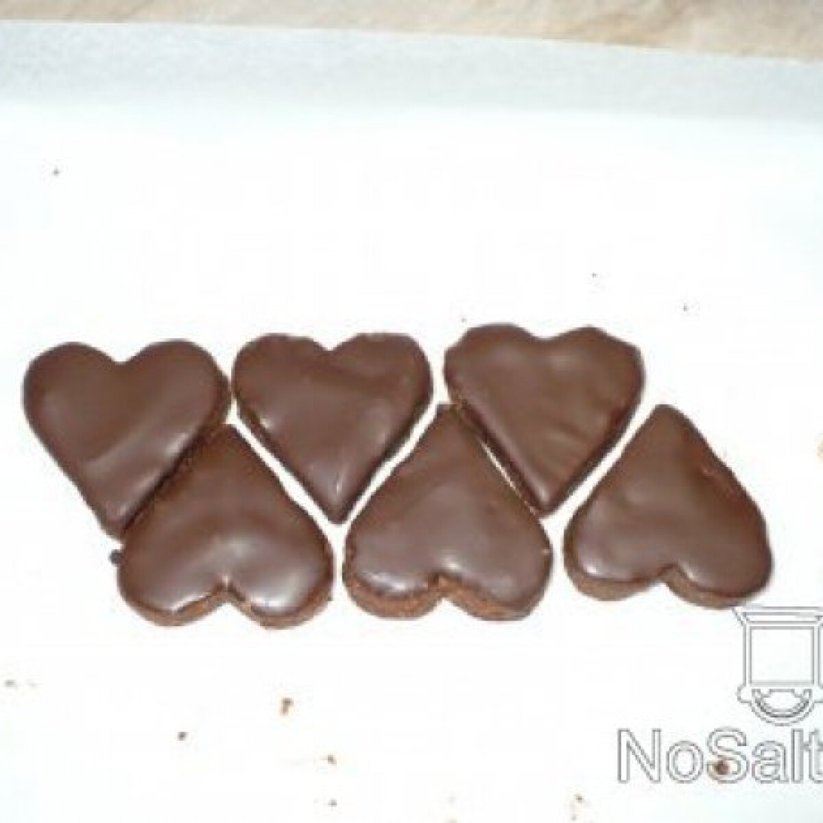 Ezen a képen: Csokoládés szívecskék